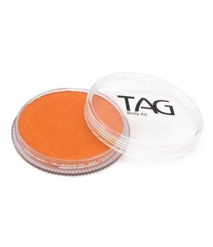 Аквагрим TAG 32гр перламутровый оранжевый
