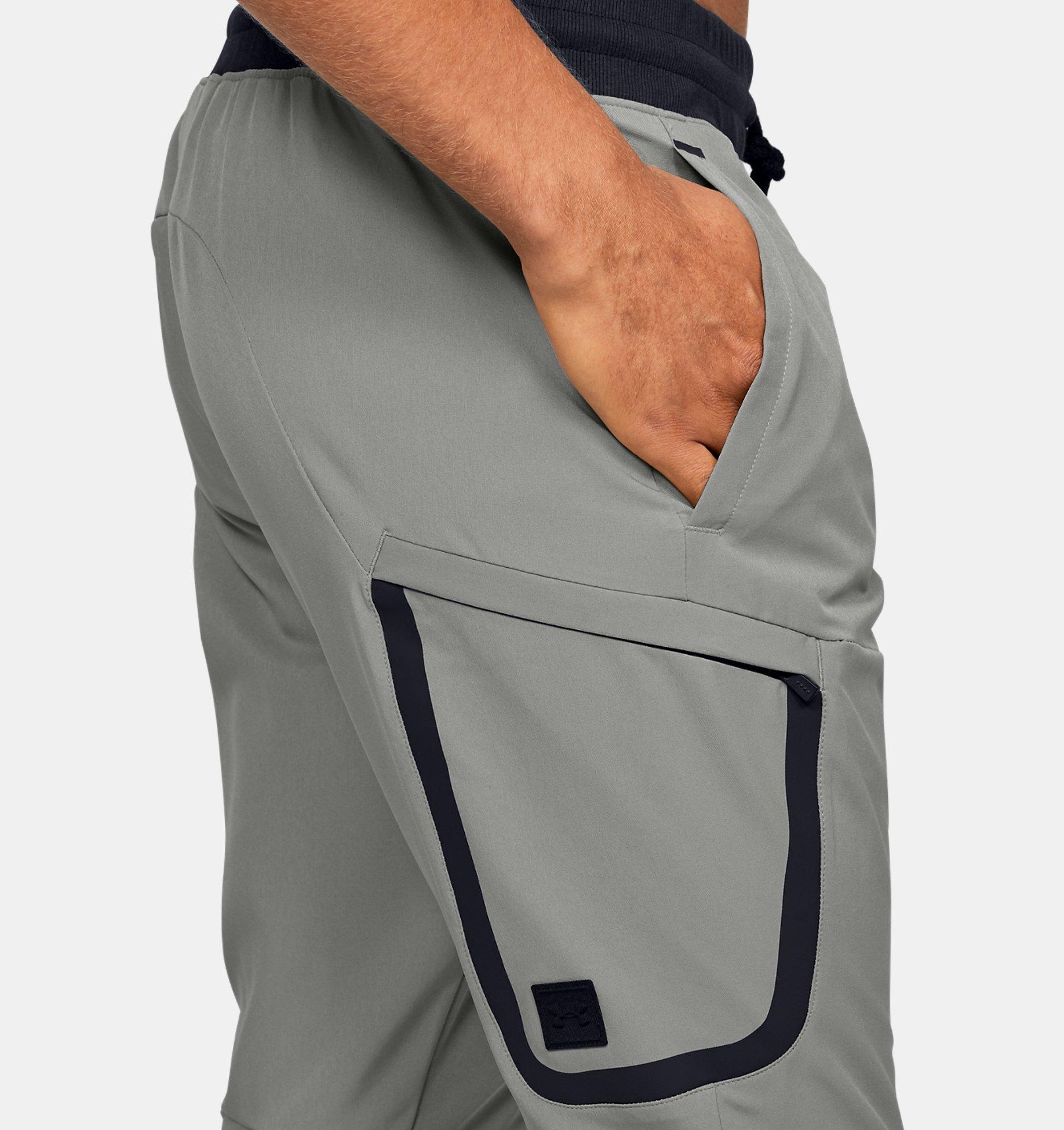 Штаны для бега Under Armour Unstoppable Woven Cargo Pant