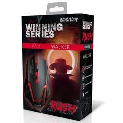 Игровая мышь проводная RUSH WALKER SBM-722G-K черный SMARTBUY