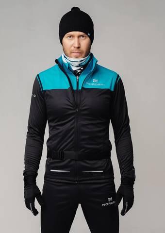 Разминочная куртка Nordski Pro breeze/black мужская