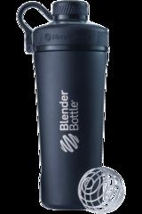Шейкер-термос стальной Blender Bottle Stainless Radian Tritan  769мл black