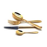 Набор полированный 24 пр VAN DER ROHE GOLD, артикул 9211, производитель - Cutipol