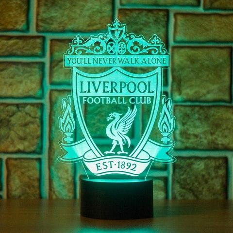 Ночник Ливерпуль (Liverpool)