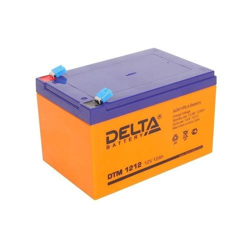 Аккумулятор Delta DTM1212 (12В 12А/ч)