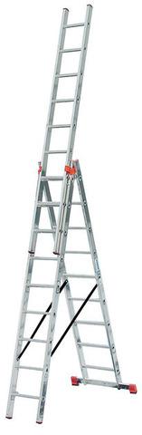 TRIBILO Универс. лестница их трёх частей с доп. функцией, 3 х 8