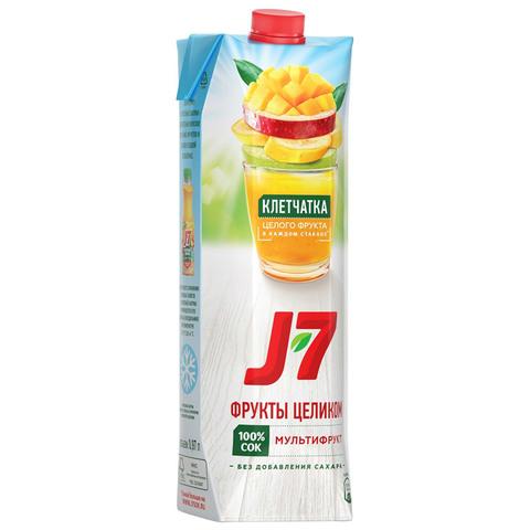 Нектар J7 мультифрукт 0,97л