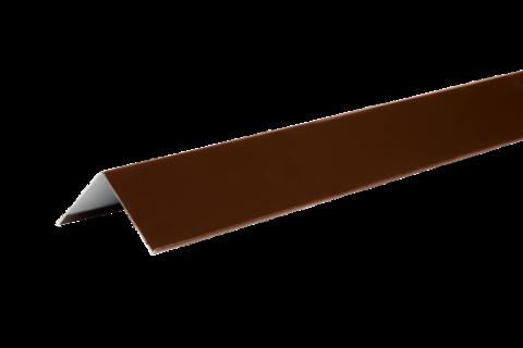 Уголок металлический внешний Технониколь Полиэстер коричневый 50х50х1250 мм