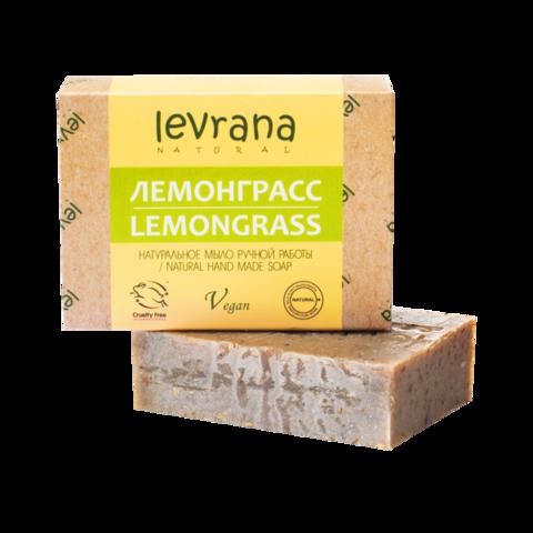 Levrana Натуральное мыло ручной работы Лемонграсс, 100гр
