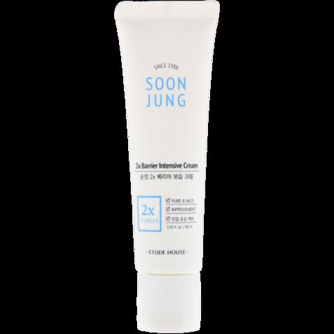 ETUDE HOUSE Soon Jung 2x Barrier Intensive Cream 60ml