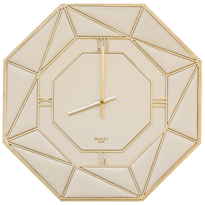 Часы «Deco». Цвет молочный