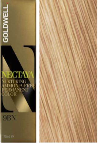 Goldwell Nectaya 9BN карамельный блонд 60 мл