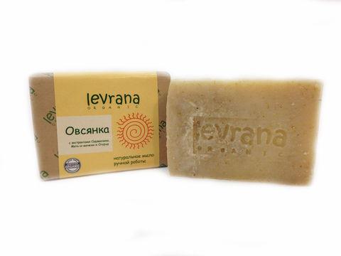 Levrana, Натуральное мыло ручной работы Овсянка, 100гр