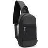 Однолямочный рюкзак ARCTIC HUNTER XB0060 Черный
