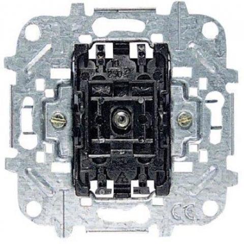 Механизм выключателя одноклавишного с контурной подсветкой, 1-полюсного, 10А 250 В. ABB (АББ). 8101.5