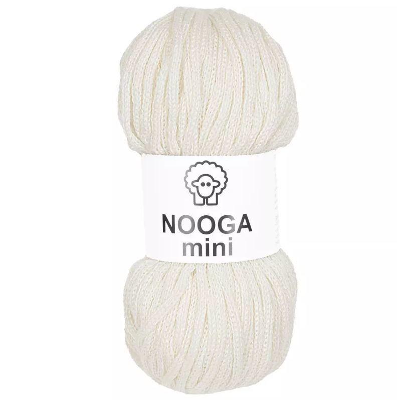 Теплый шнур Nooga mini Nooga mini Пломбир 32432.JPG