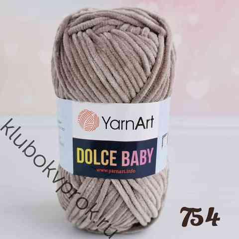 YARNART DOLCE BABY 754, Темный бежевый