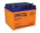 Аккумулятор DELTA HRL 12-45 ( 12V 45Ah / 12В 45Ач ) - фотография