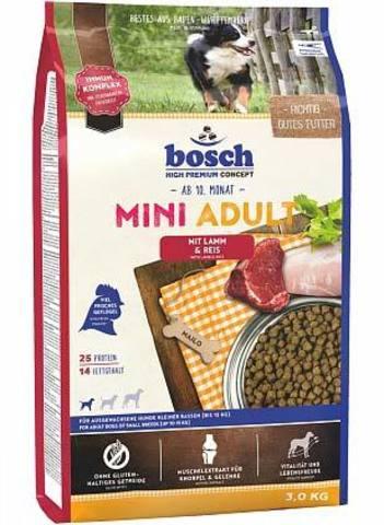 Сухой корм для собак Bosch Adult, при чувствительном пищеварении, ягненок 15 кг (для мелких пород)