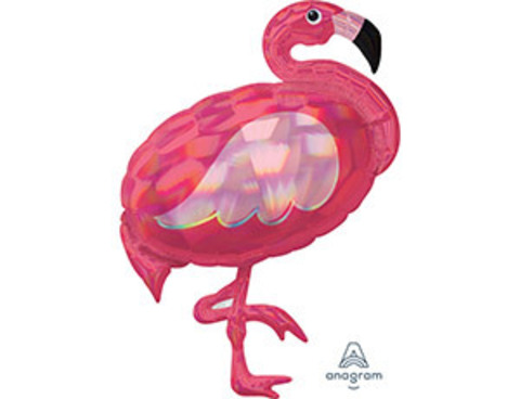 Фольгированный шар Фламинго переливы