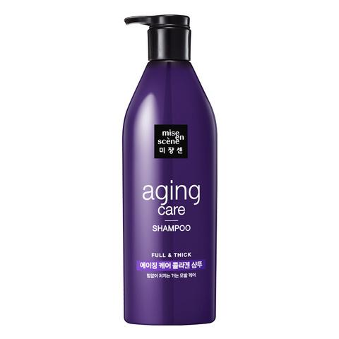 Шампунь для силы и здоровья волос | MISE EN SCENE Full&Thick Anti-Aging Shampoo 680 мл