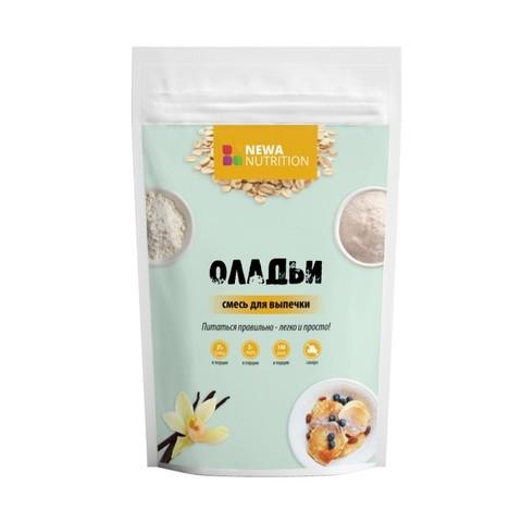 Смесь для Оладий с выс.содерж. белка б/сах 200гр NEWA NUTRITION