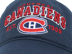 Бейсболка NHL Montreal Canadiens est. 1909