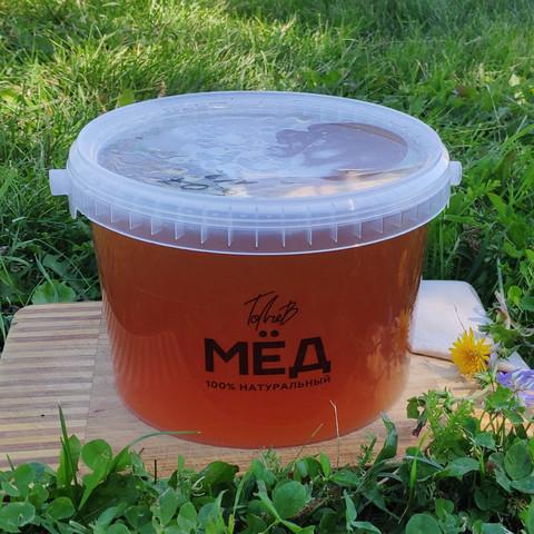 Мёд цветочный начало лета 2021 Ивановка 3 литра (4,3кг)