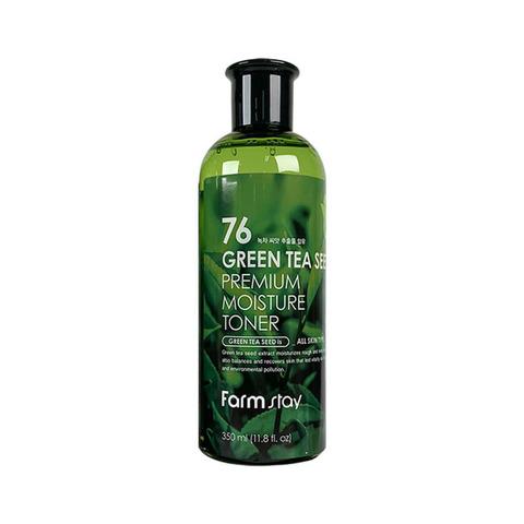 Тонер увлажняющий с семенами зеленого чая FARMSTAY Green Tea Seed Premium Moisture Toner