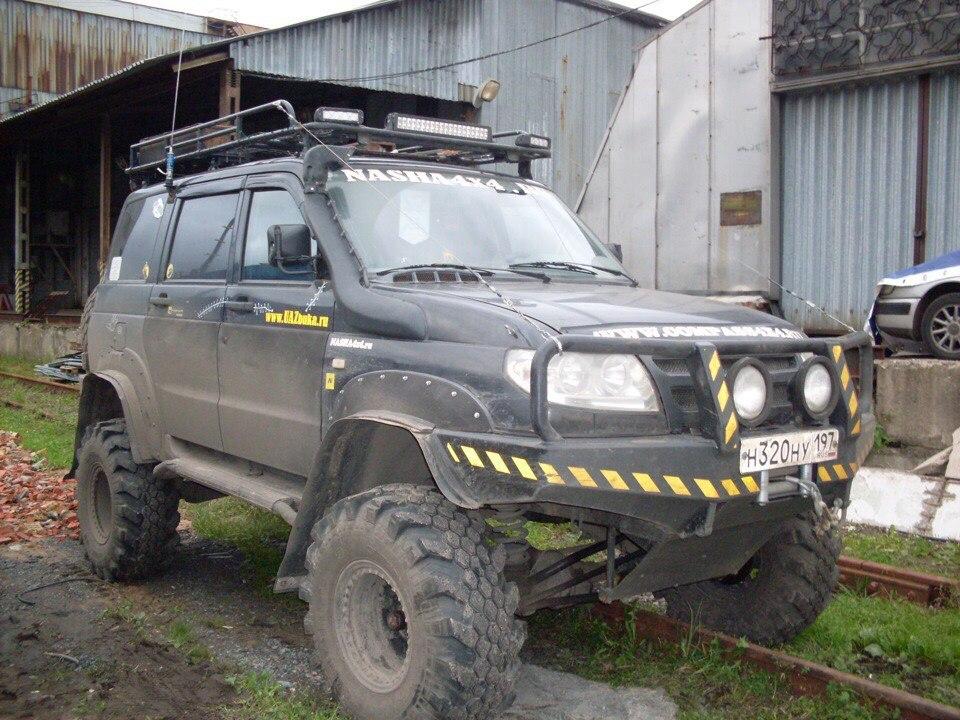 Тюнинг УАЗ Патрит. Колеса 36