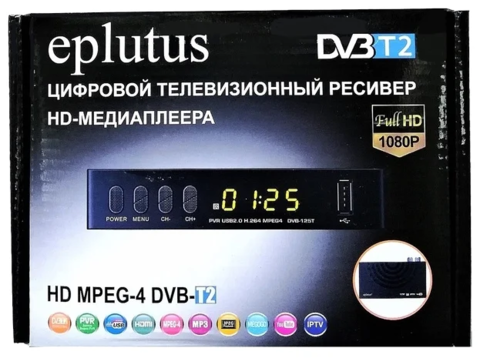 TV-тюнер Eplutus DVB-125T цифровой