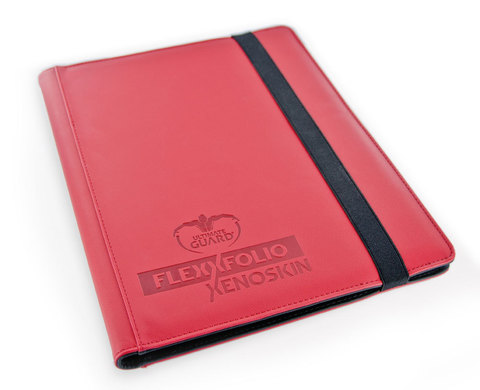 9-Pocket FlexXfolio XenoSkin Red