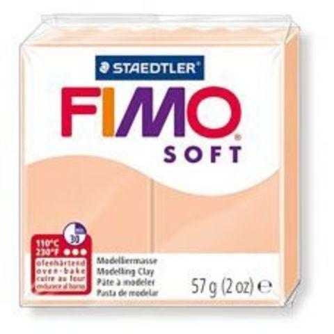 Полимерная глина FIMO Soft 43 (телесный) 57г