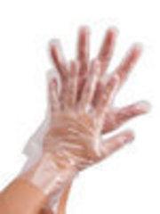 Перчатки одноразовые полиэтиленовые, размер L, 500 шт.