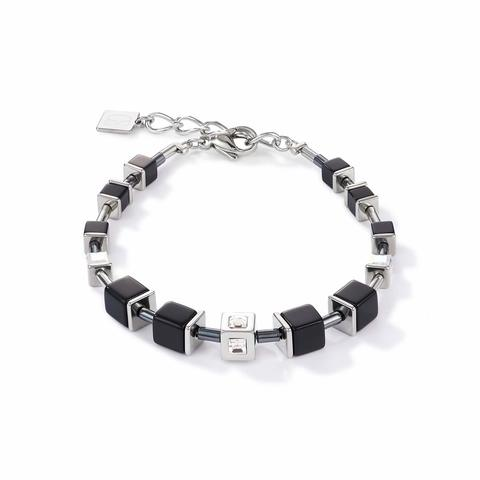 Браслет Black- Silver 5050/30-1317
