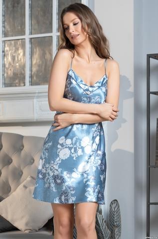 Сорочка женская Mia-Amore PARIS PIONS ПАРИЖ ПИОН 8991 голубой