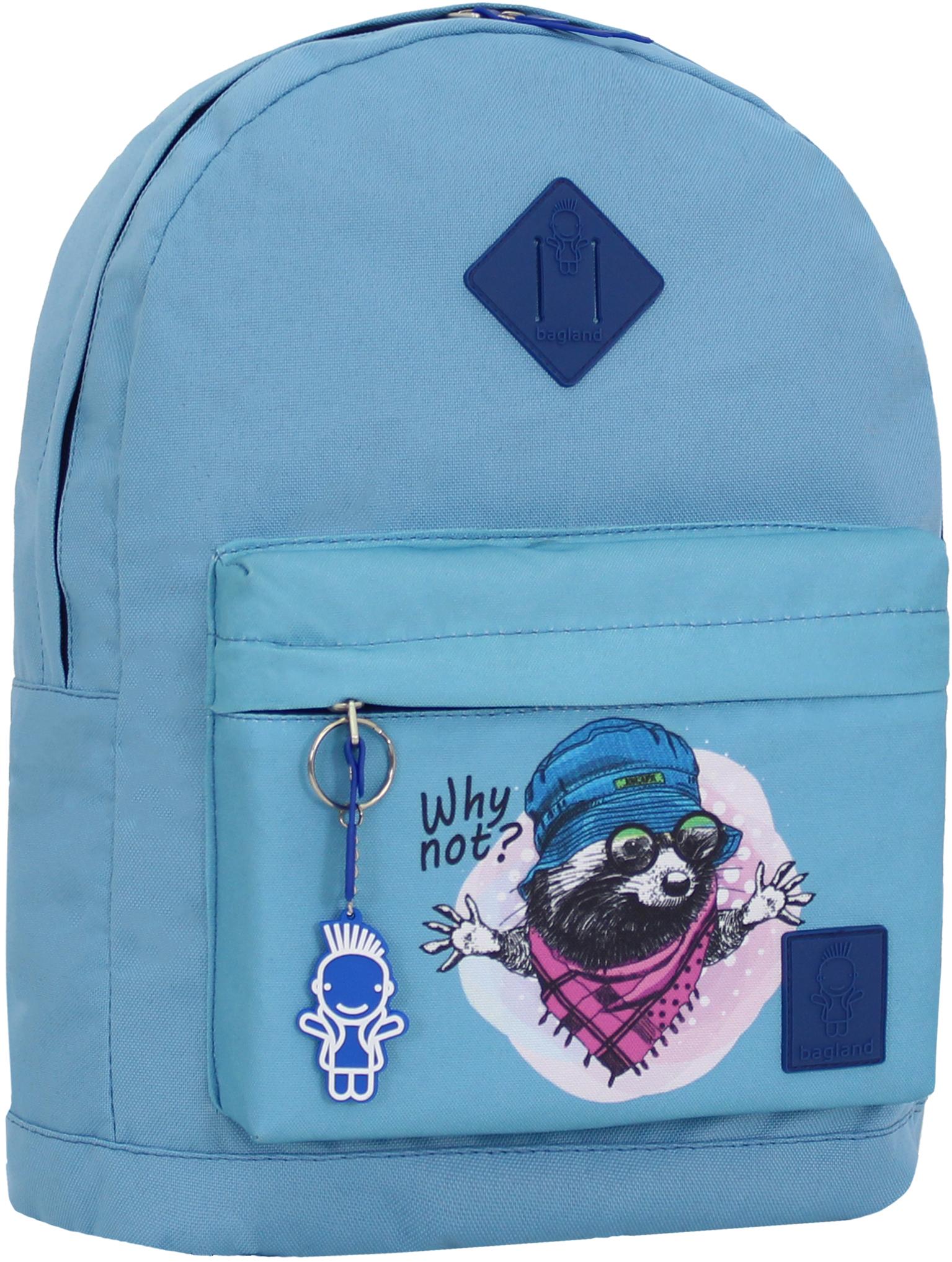 Городские рюкзаки Рюкзак Bagland Молодежный W/R 17 л. голубой 267к (00533662) IMG_0834_267к.JPG