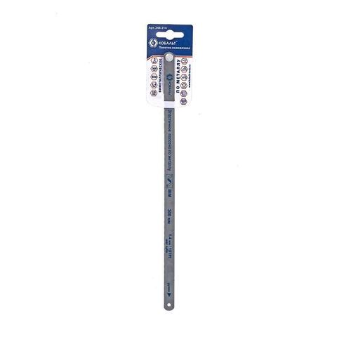 Полотна ножовочные по металлу КОБАЛЬТ 300 мм, эластичные, шаг 1.4 мм/18TPI, BIM (2 шт) бли (248-214)