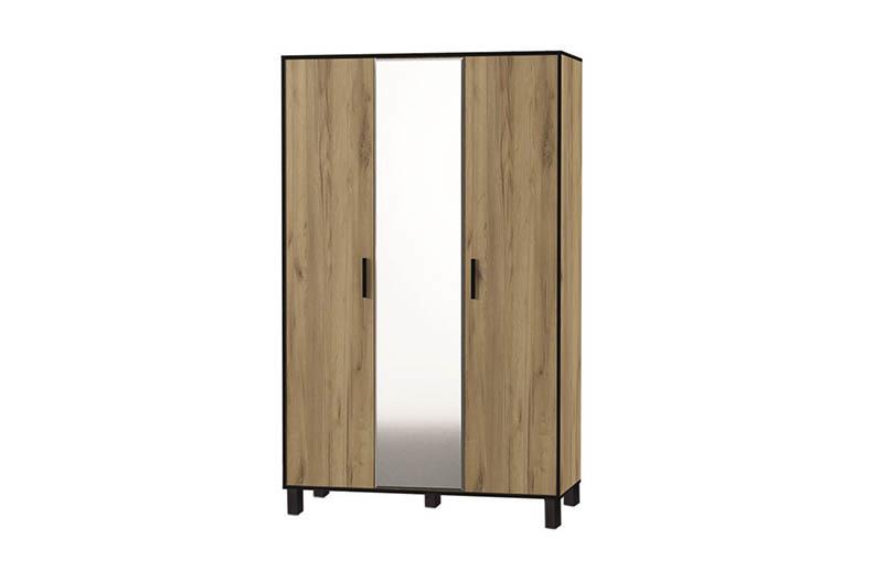 Лофт Шкаф 3-х створчатый
