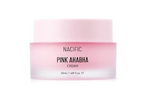 NACIFIC Pink AHA BHA Cream крем с АНА и ВНА кислотами для интенсивного питания и насыщения кожи влагой