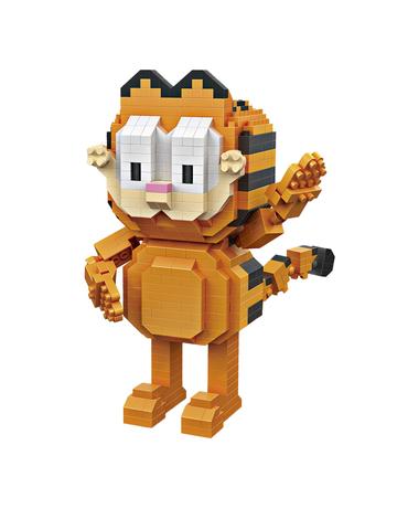Конструктор LOZ Гарфилд 630 деталей NO. 9758 Garfield iBlockFun Series