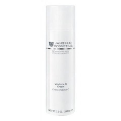 Регенерирующий Крем с Витамином C, Janssen Cosmetics,200мл