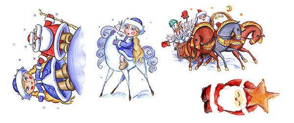 Водорастворимая бумага для новогоднего мыла