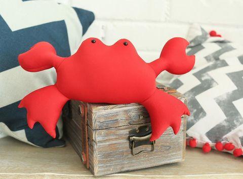 Подушка-игрушка антистресс Gekoko «Мистер Краб»