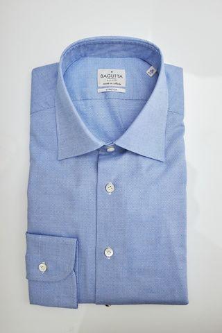 Bagutta Сорочка Stretch в выработку плетением