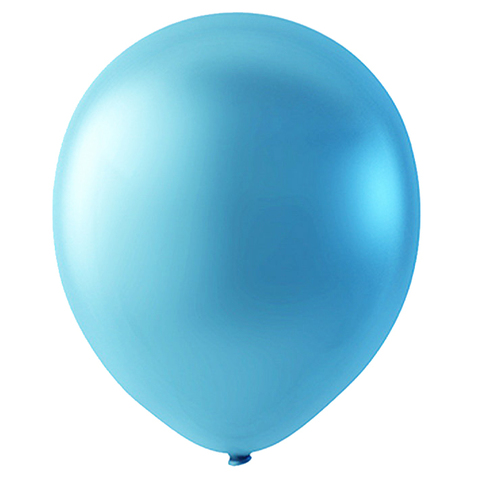 Шар Голубой Металлик, 30 см