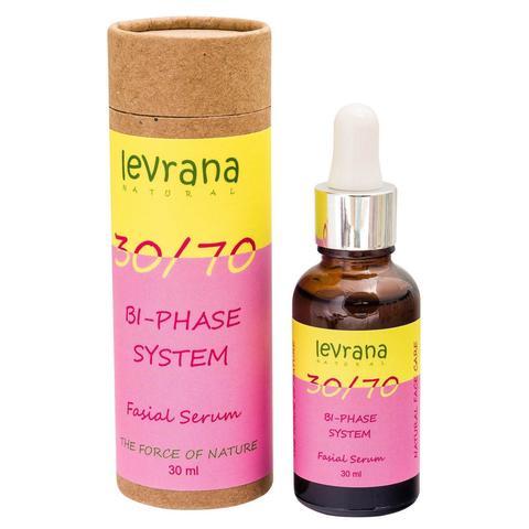 Сыворотка для лица двухфазная с маслом розы, Levrana