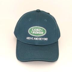Кепка с вышитым логотипом Ленд Ровер (Кепка Land Rover) сине-зеленая