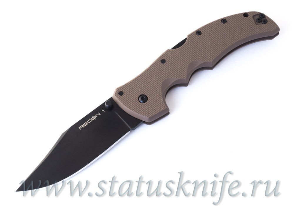 Нож Cold Steel Recon 1 Clip point 27TLCVF Dark Earth
