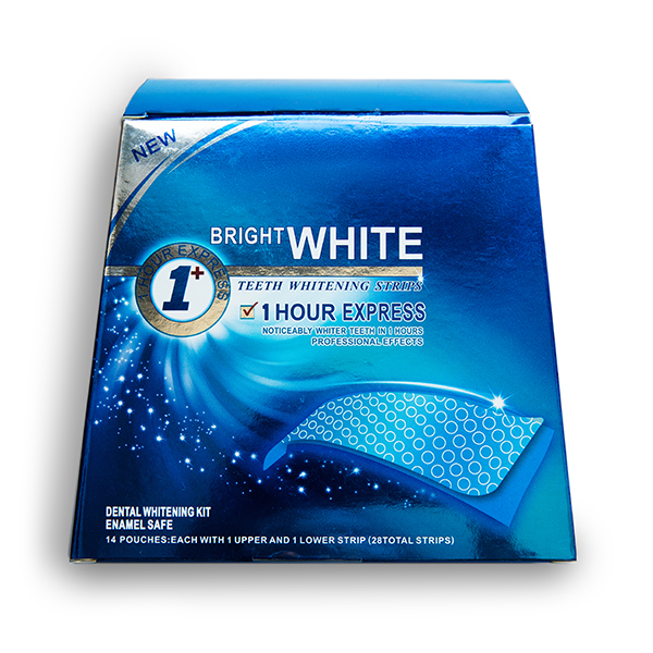Отбеливающие полоски Bright White Dry Formula