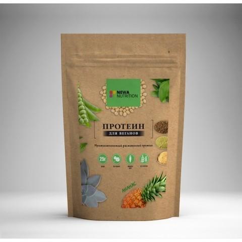 Растительный Протеин Ананас б/сах, б/глют 700гр NEWA NUTRITION